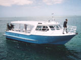 AB Ocean Divers charter boat