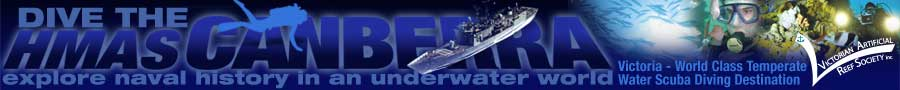 Dive the ex HMAS Canberra - Explore naval history in an underwater world